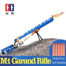 Rubberband пистолет legoed AK-47 гарандом пистолет военный конструктор Набор оружия может стрелять строительные блоки игрушка для детей подарок