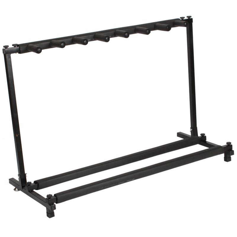 Multiple 3/5/7/9 Guitar Stand Universal Folding Display Holder Stand Rack For All Size Acoustic Guitar Bass Guitarra Accessories