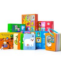 Children's Literacy Card English 0 6 Years Old Baby Early Education Puzzle Memory Card Cognitive Words Flash Card