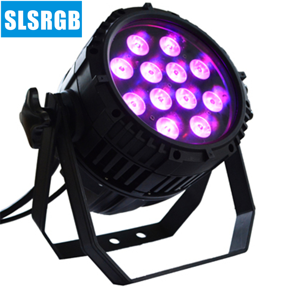 8pcs/lot New dmx dj ip65 outdoor <font><b>12x12w</b></font> rgbw lighting <font><b>par</b></font> 64 <font><b>led</b></font> Waterproof 12PCS 12w 4 in 1 color dmx <font><b>par</b></font> 64 <font><b>led</b></font> <font><b>par</b></font> light image