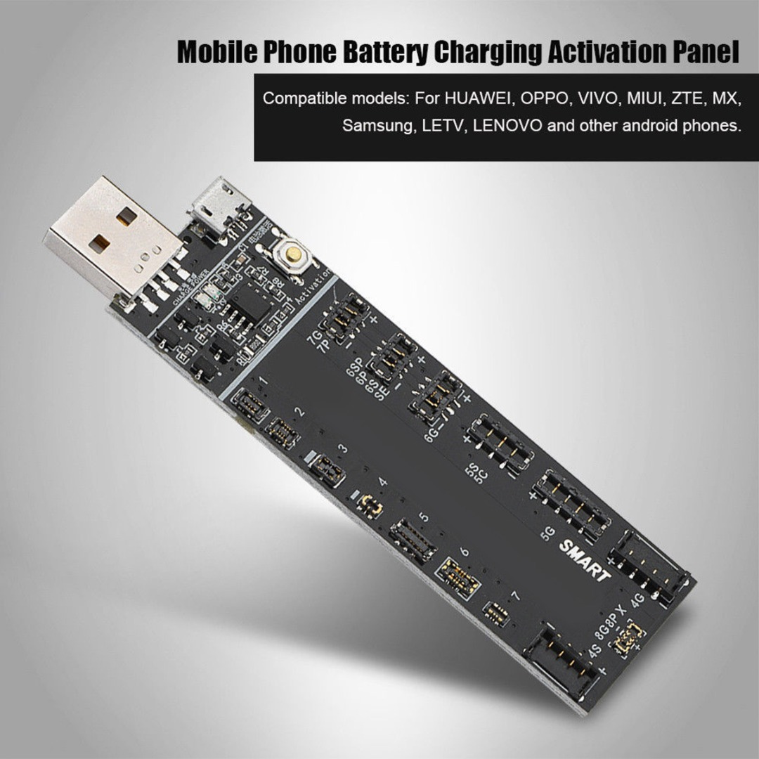 High Quality Battery Fast Charging Phone Activation Board For iPhone X 7 8 plus Charging Activation small Board