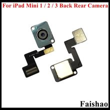 FaiShao 10pcs/lot for iPad Mini 1 2 3 Big Main Back Rear Camera Module with Flex Cable 3G 4G Wifi Version Replacement