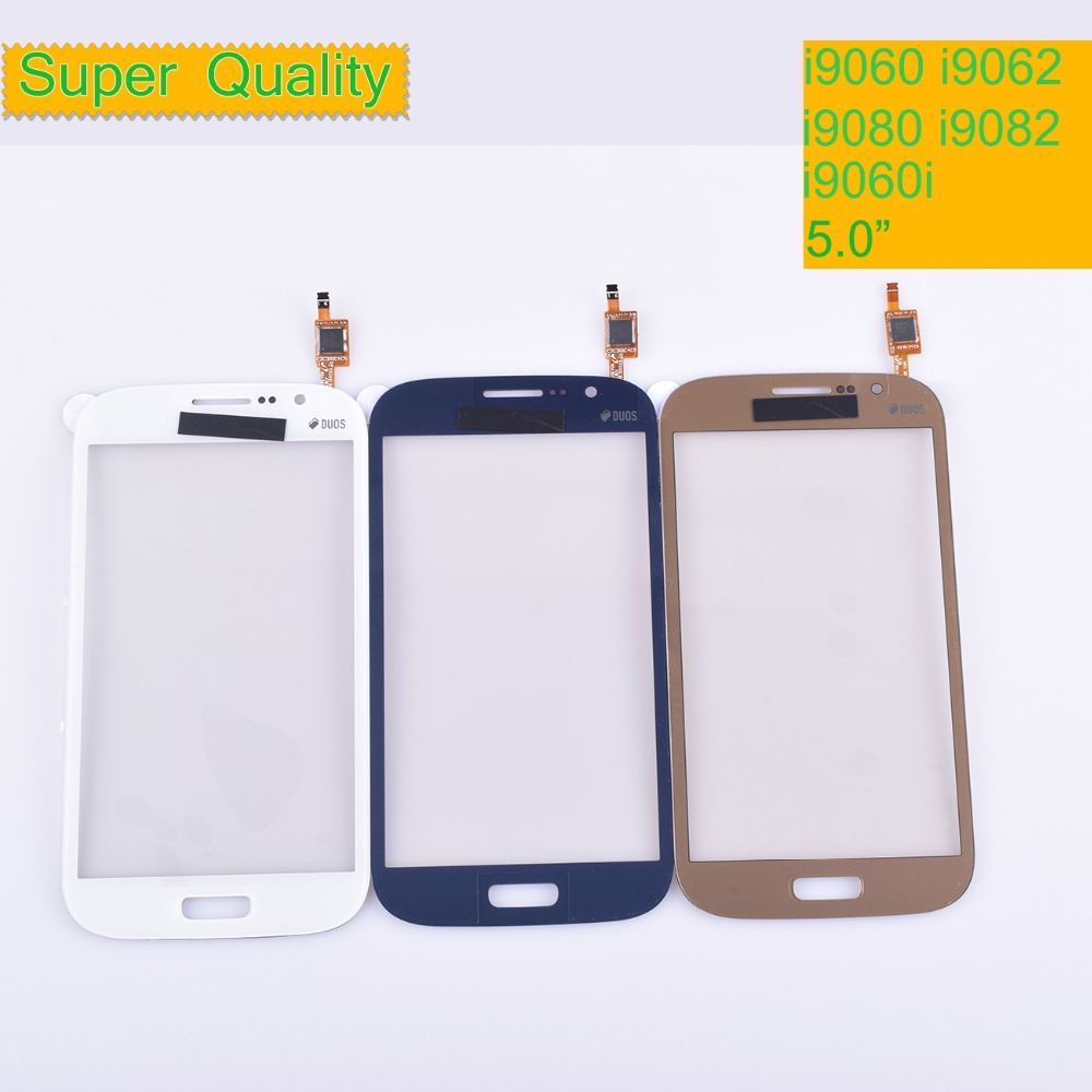 10Pcs/lot For Samsung Galaxy Grand GT I9082 I9080 Neo I9060 I9062 Plus I9060i Touch Screen Panel Sensor Digitizer Touchscreen