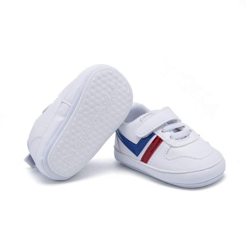 2020 New Baby  Boys Casual Shoes Infant Toddler First Walkers Soft Sole Baby Girls Crib Shoes White Fashion Sneakers