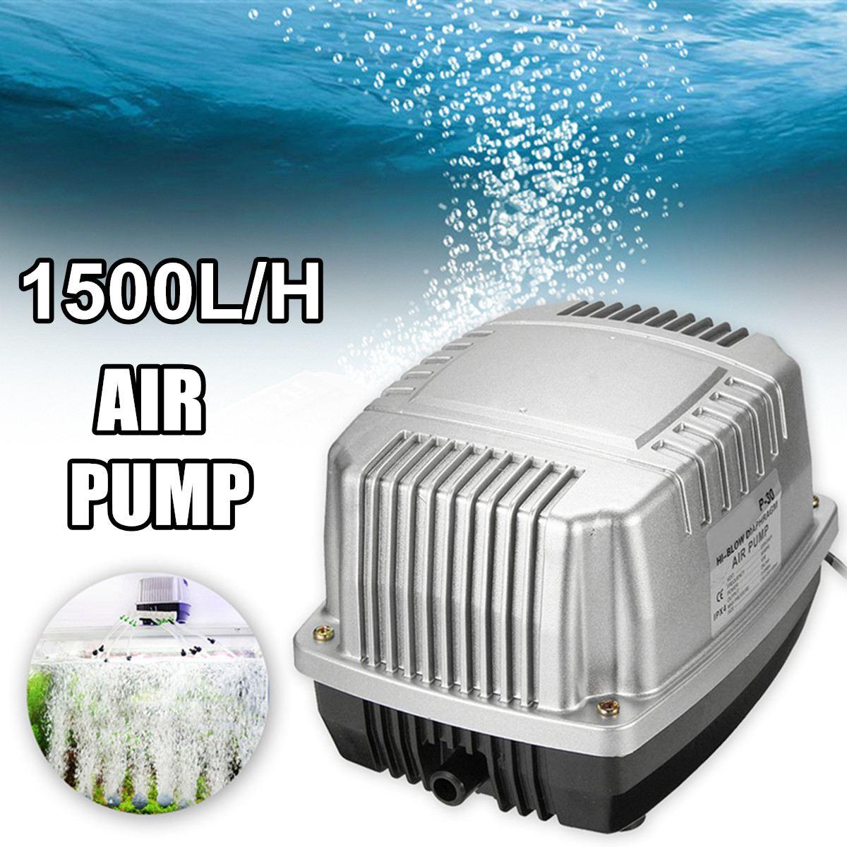 10 W haute puissance compresseur d'air ferme grand Volume ABS pompe à Air muet silencieux Machine à oxygène rinçage à l'oxygène Aquarium pompe à Air 25 L/min