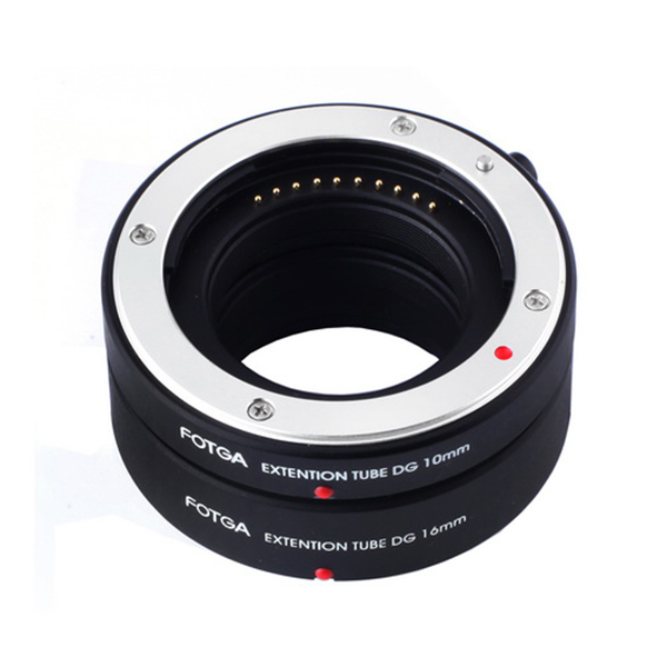 FOTGA Auto Fokus AF Makro Extension Tube DG Set Ring 10mm 16mm Adapter untuk Sony E-Mount NEX7
