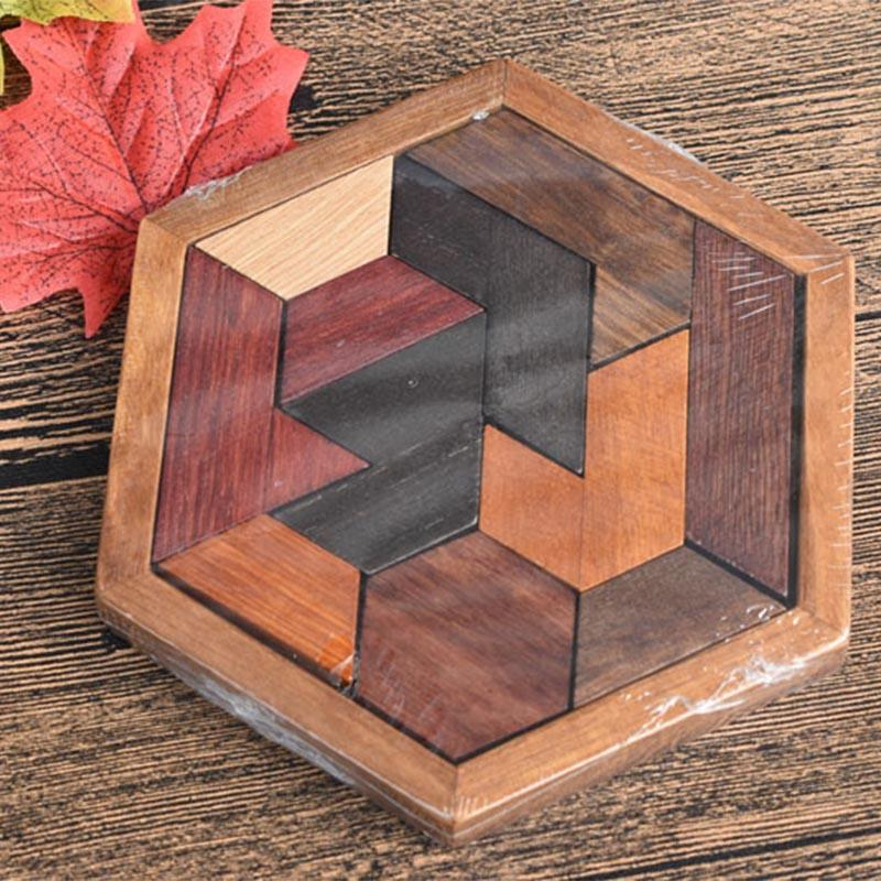 Wooden Puzzles Toys Child Educational Toy  1