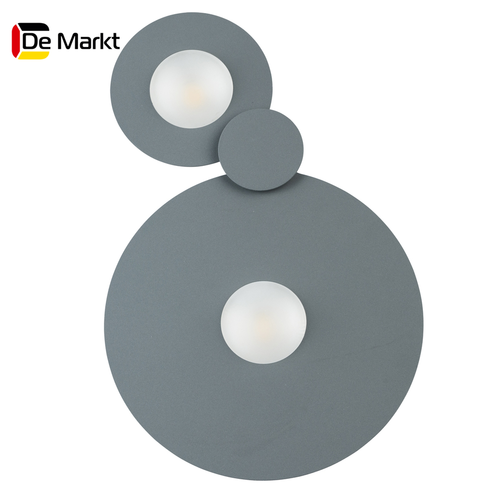 Wall Lamps De Markt 637017702 lamp Mounted On the Indoor Lighting Lights Chandelier chrome deck faucet package wall mounted