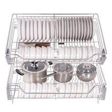 Accesorios Organizar Para Armario Dish Drainer Despensa Gabinete Stainless Steel Rack Cozinha Organizer Kitchen Cabinet Basket