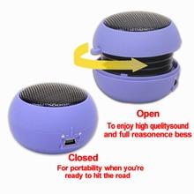 3.5mm Jack AUX Mini Burger Column Speaker Hamburger Wired Sound Box Loundspeaker Stereo Super Bass Hi-Fi Audio Music