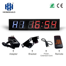 4 6 electronic counter led running counter candle holder