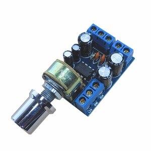 Image 4 - LEORY TDA2822M 1W * 2 ערוץ כפול אודיו מגבר סטריאו מודול לוח נפח בקרת DC 1.8 12V מבצעי מגבר שבבי