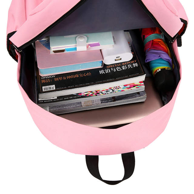 6fe45621cf8e US $17.4 40% OFF 2019 Clover backpacks for women schoolbag back pack Simple  Solid nylon high school bags for teenagers girls bagpack Preppy Style-in ...