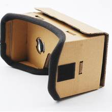 Virtual Reality Glasses Google Cardboard 3D Glasses VR Glasses Movies for iPhone 5 6 7 Smart Phones(China)