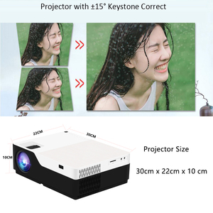 Image 5 - SmartIdea M18 Native 1920x1080 Full HD Projector LED 3D Home Cinema Proyector 5500lumens Android Video game LCD 1080P Beamer