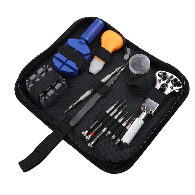 390pcs Watch Opener Remover Spring Bar Repair Pry Screwdriver Repair Tool Clock