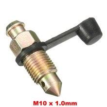 M10 x 1 мм M8 x 1,25 мм тормозной суппорт для мотоцикла, резьбовой ниппель С Пылезащитным колпачком
