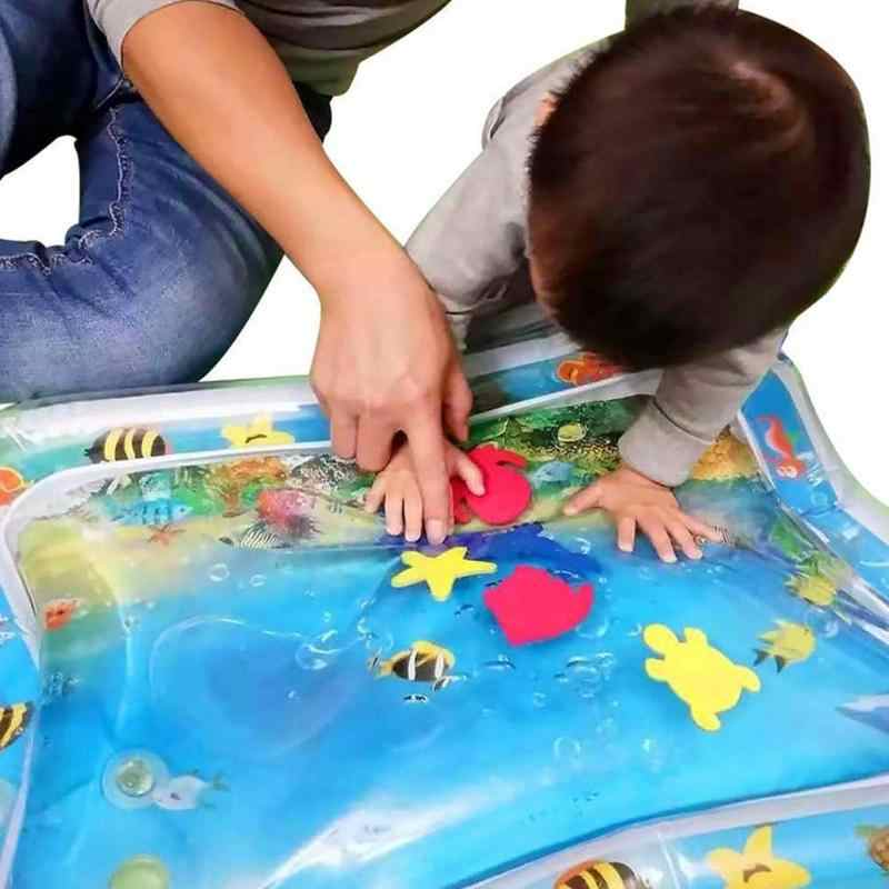 2019 Creative Dual Use Toys Baby Kids Water Play Mat Inflatable Infants Tummy Time Playmat Toy