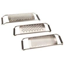 Набор терок Rondell Comfort 3 предмета RD-430 (В набор входят  3 терки с разными сетками: для крупного, среднего и мелкого измельчения, прочная высококачественная пищевая сталь, не затупляются, не гнутся)
