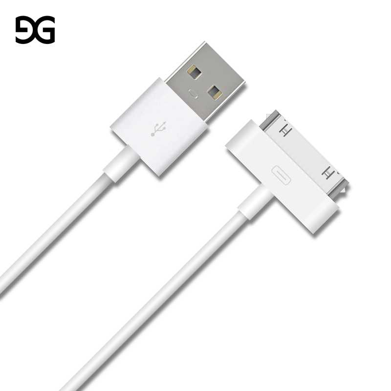 Kabel USB untuk iPhone 4 S 4 S 3GS 3G iPad 1 2 3 IPod Nano ITouch 30 Pin cepat Pengisian Usb Kabel Charger Data Sync Tali