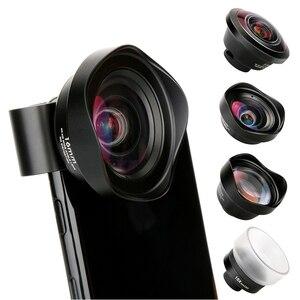 Image 1 - Pholes 4 で 1 携帯電話カメラレンズキット広角望遠レンズマクロ魚眼レンズ iphone xs 最大 × 8 huawei 社 P20 プロ