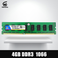 VEINEDA Memory ram DDR3 4gb 1066Mhz ddr 3 4gb PC3 8500 Memoria 240pin compatible 1333 1600 for AMD Intel Desktop