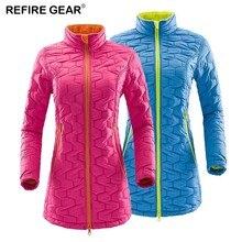 цены на Refire Gear  Fleece Thick Thermal Jackets Women Cotton Outdoor Windbreaker Hiking Climbing Trekking Camping Brand Coats Women  в интернет-магазинах