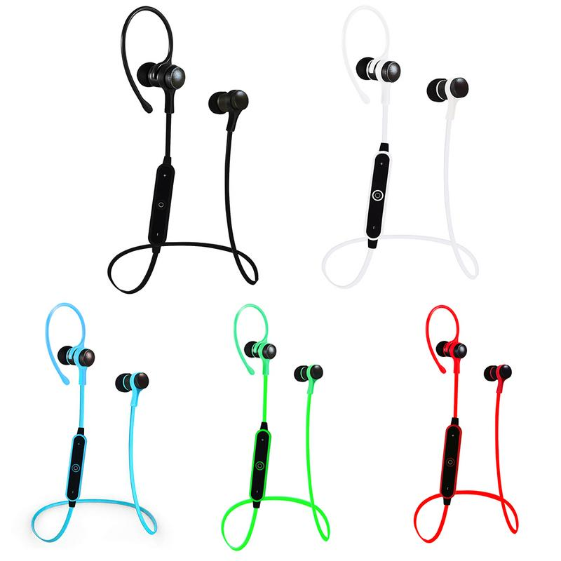Wireless Bluetooth 4.2 In-ear Earphone With Mic Hands-free Calling Super Long Standby Outdooors Sports Running Music Earbuds