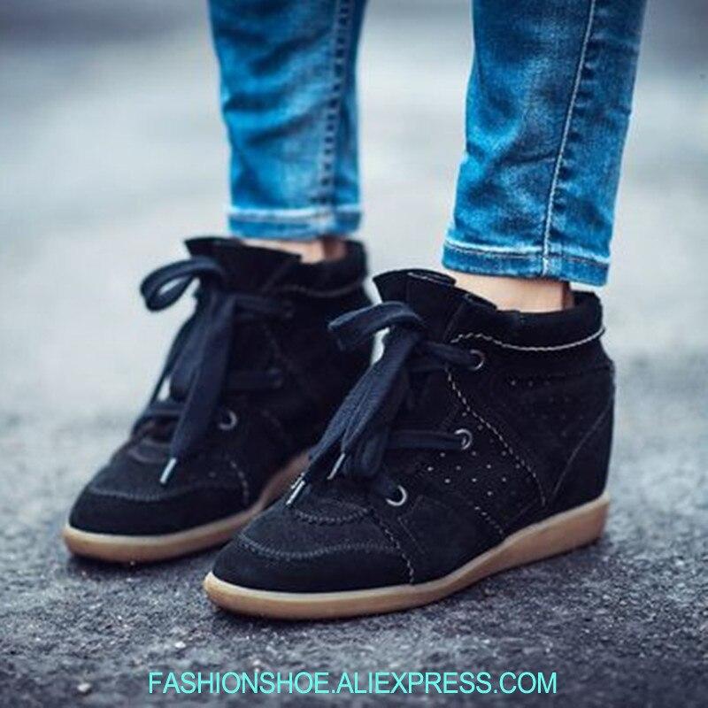 Height Increasing Wedge Sneakers Spring Casual Sport Shoes Trainer Beckett Sneakers Mtorcycle Boots Ankle Boots Women SneakersHeight Increasing Wedge Sneakers Spring Casual Sport Shoes Trainer Beckett Sneakers Mtorcycle Boots Ankle Boots Women Sneakers