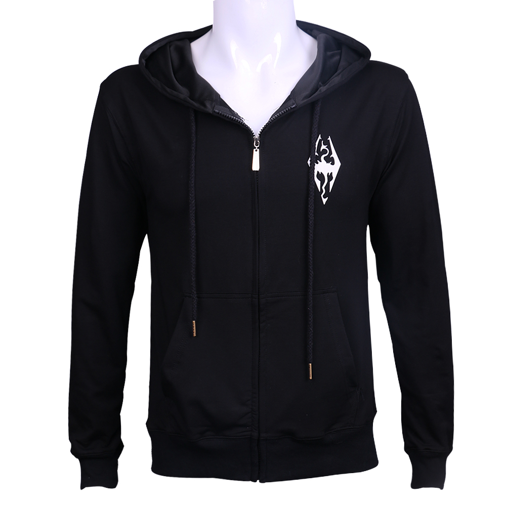 New The Elder Scrolls game Hoodie costume Autumn Winter Sweatshirt Cosplay Halloween Party Prop image