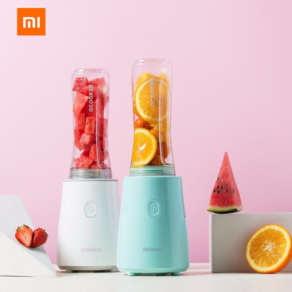 Xiaomi mijia Ocooker Stainless Steel Youth Portable Portable Juicer Fruit and Vegetable Cooking Machine Point Switch