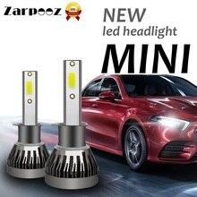 Zarpooz мини Canbus H4 H7 светодиодный фар автомобиля 12V H11 H8 H1 H3 9005 9006 9007 880 H27 72W фары для 6000K Аксессуары для ламп