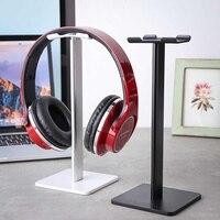 Universal Aluminum Headphone Stand Earphone Headset Hanger Bracket Desk Display Shelf Rack Organizer Accessories 2 Colors