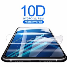 New 10D Curved Soft Protective For Samsung Galaxy J 3 4 6 A 8 Plus Screen Protector Film M10 20 S10 10E (Not Glass)