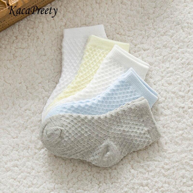 LiebenswüRdig Weiche Atmungsaktive Baumwolle Socken Baby Dünne Socken Sommer Infant Neugeborenen Kinder Boden Socken Junge Sport Socken Calcetines De Bebe