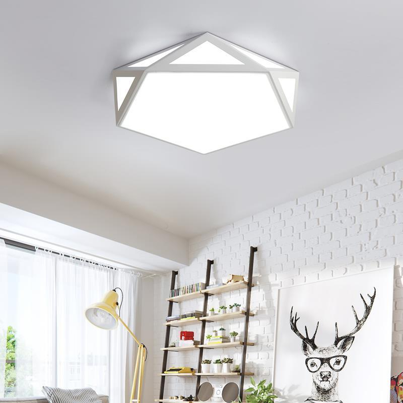 industrial decor plafonnier luminaire colgante moderna luminaria de teto lampara techo living room plafondlamp led ceiling light in Ceiling Lights from Lights Lighting