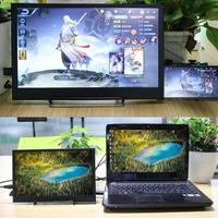 13.6 HDMI HD1080P HDR Type C Portable Monitor 1920 * 1080P IPS Screen For PS4 XBOX Car Display PC For Mac Laptop for Raspberry
