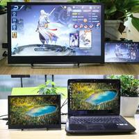 1920*1080 P HDMI HD1080P HDR type C портативный монитор 13,6 ips экран для PS4 xbox Автомобильный дисплей ПК для ноутбуков Mac для Raspberry