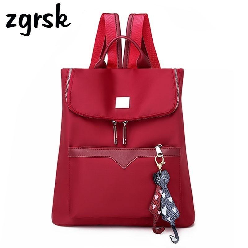Women Backpack High Quality Tassel Shoulder Bag Travel Backpacks Female School Bag For Teenage Girls Mochila Knapsack Rucksack