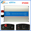 EPEVER IPower IP2000w 2KW Pure Sine wave off grid tie Solar inverter dc 24v to 220 with RS485 function and USB connection