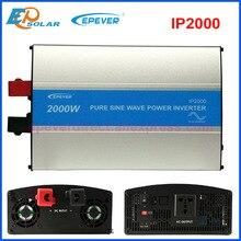 Epever ipower ip2000w 2kw 순수 사인파 그리드 타이 태양 광 인버터 dc 24v ~ 220 rs485 기능 및 usb 연결