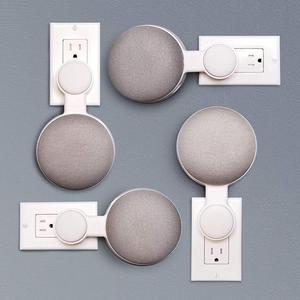 Image 3 - Для Google HomeMini голос помощник Outlet настенный держатель шнур управление кронштейн Plug In кухня спальня Высокое качество Новый