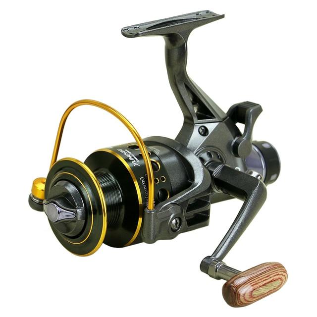 yumoshi Fishing Reel 11 Ball Bearings Spinning Dual Brake System Smooth Metal Spool GT 5.0:1 MG3000 / MG4000 / MG5000 / MG6000