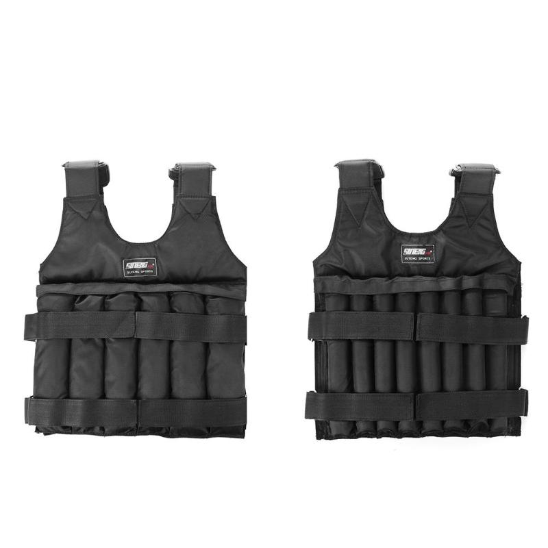 Weight Vest Boxing Training  Adjustable Weighted Vest Jacket Vest Exercise Boxing Training Invisible Weightloading Sand Clot
