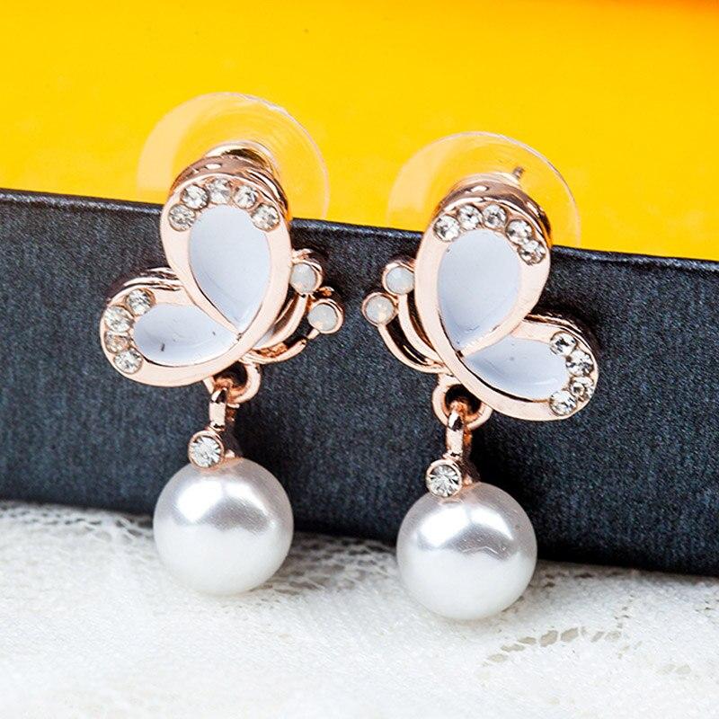 Модные женские серьги-гвоздики яркие гладкие Серебристые Плакированные в форме цветка милые и романтические стильные модные ювелирные серьги Подарки
