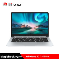 2019 HUAWEI Honor MagicBook Laptop 14 inch Windows 10 Notebook AMD Ryzen 5 3500U 8GB DDR4 256GB/512GB SSD Radeon Vega 8