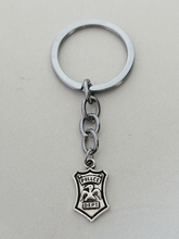 Police Personality Keychain Logo Alloy Personalized Gift