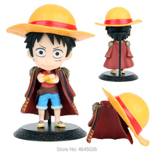 Qposket Monkey D Luffy Anime PVC Action Figure One Piece Childhood Figurine Collectible Doll Kids Toy for Boys Children 15CM 15cm one piece smoker action figure 1 8 scale painted acgn pvc figure collectible toy