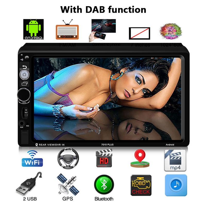 Car MP5 Player - 7010 PLUS Car HD Smart For Android 7 Inch Car MP5 Multimidia Player Universal NavigatorCar MP5 Player - 7010 PLUS Car HD Smart For Android 7 Inch Car MP5 Multimidia Player Universal Navigator