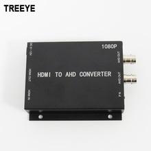 AHD TREEYE HDMI dönüştürücü 1080 P 2.0 megapiksel HDMI döngü çıkış Endüstriyel yüksek çözünürlüklü video dönüştürücü